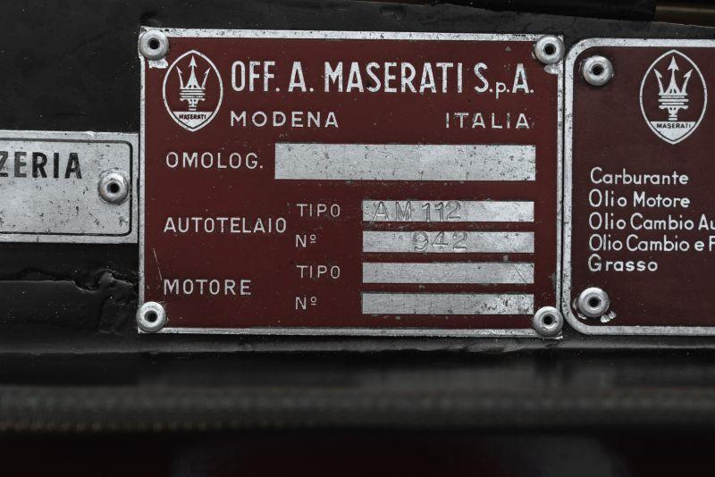 1972 MASERATI MEXICO 4.2 84513