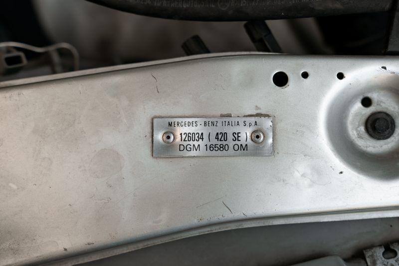 1987 Mercedes-Benz 420 SE 68448