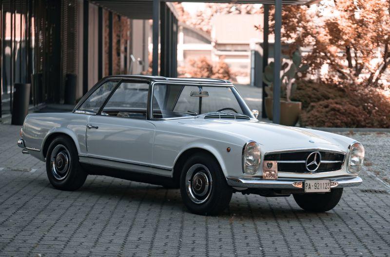 1966 Mercedes Benz SL230 Pagoda 76013