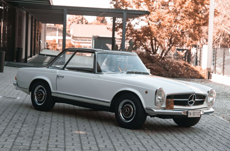 1966 Mercedes Benz SL230 Pagoda 76016