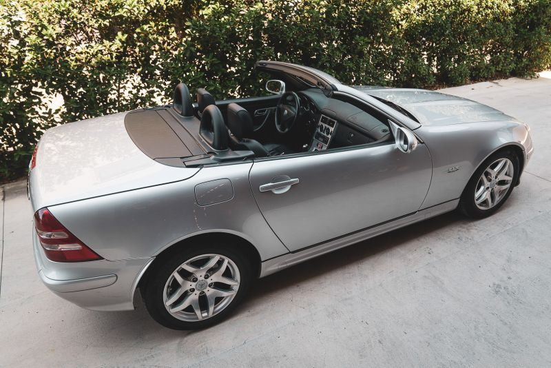 2004 Mercedes Benz 200 SLK Kompressor Special Edition 80714