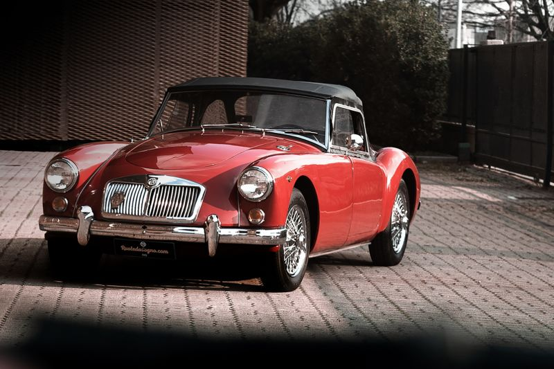 1961 MG A SPIDER 1600 64762