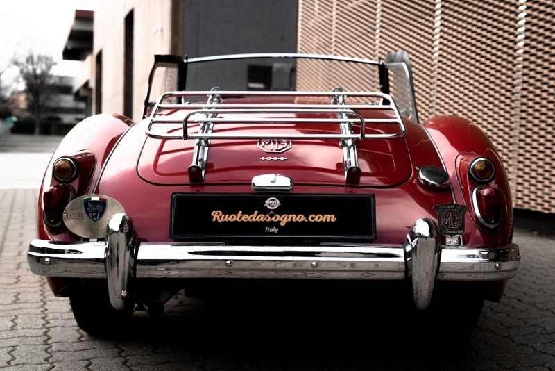 1961 MG A SPIDER 1600 60560