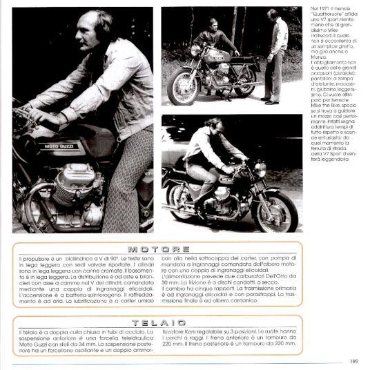 1972 Moto Guzzi V7 Sport Telaio Rosso 76874