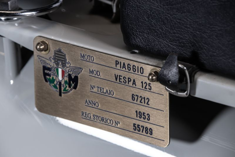 1953 Piaggio Vespa 125 VM1T 75542