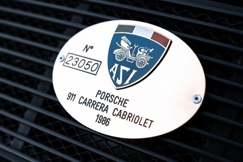 1986 Porsche 911 Carrera 3.2 Cabrio 70905