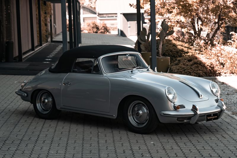 1963 Porsche 356 B 1600 S Cabriolet 76209