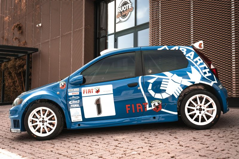 2004 Fiat Punto S1600 Rally 76540