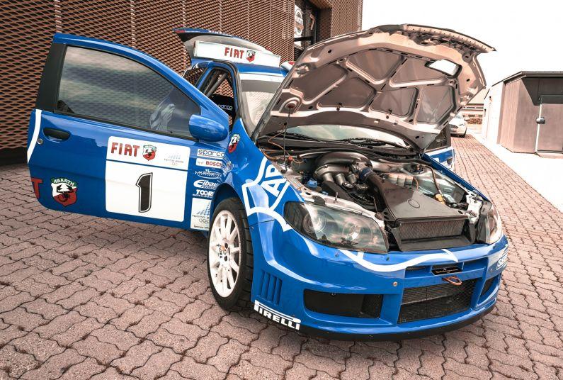 2004 Fiat Punto S1600 Rally 76546