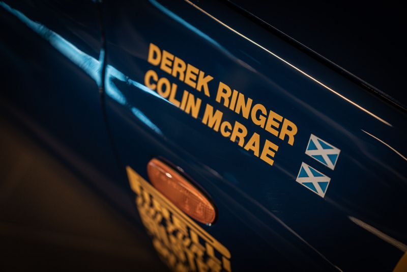 "1993 Subaru Impreza ""555"" Gr.A ex Colin McRae 82704"