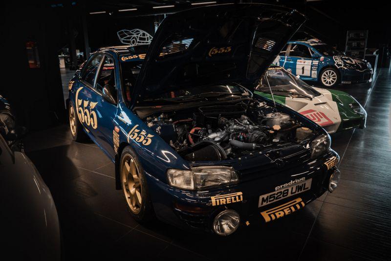 "1993 Subaru Impreza ""555"" Gr.A ex Colin McRae 82714"