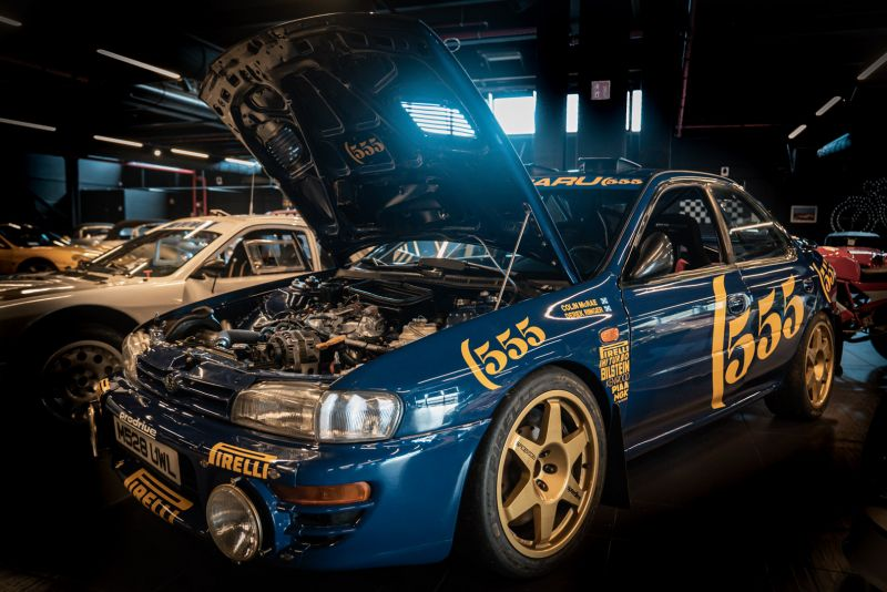 "1993 Subaru Impreza ""555"" Gr.A ex Colin McRae 82702"