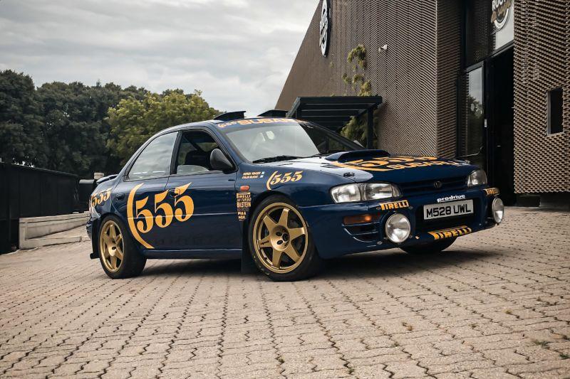 "1993 Subaru Impreza ""555"" Gr.A ex Colin McRae 82699"