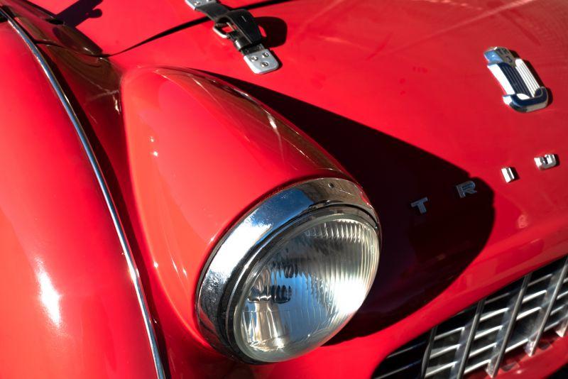 """1958 Triumph TR3A """"Small Mouth"""" 59692"""