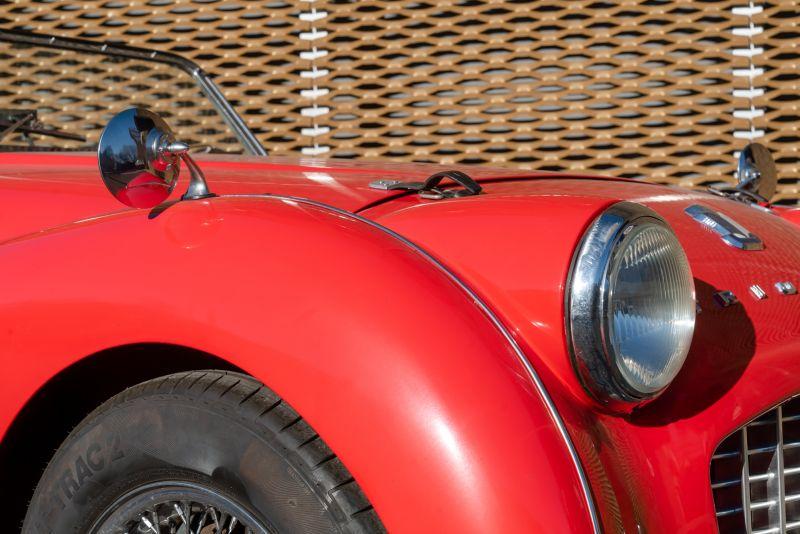 """1958 Triumph TR3A """"Small Mouth"""" 59680"""