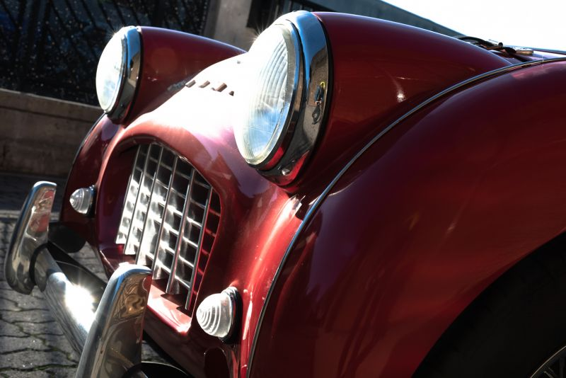 """1958 Triumph TR3A """"Small Mouth"""" 59695"""