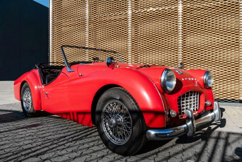 """1958 Triumph TR3A """"Small Mouth"""" 59677"""