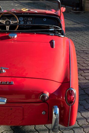 """1958 Triumph TR3A """"Small Mouth"""" 59707"""