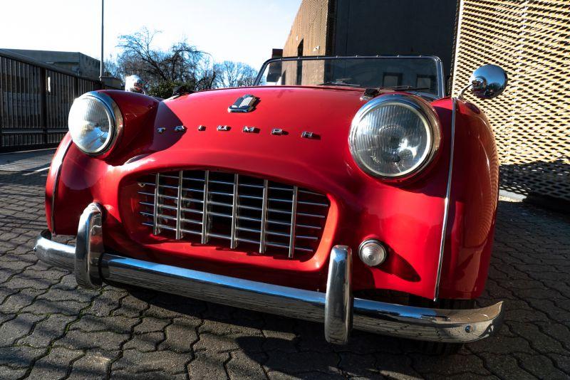 """1958 Triumph TR3A """"Small Mouth"""" 59681"""