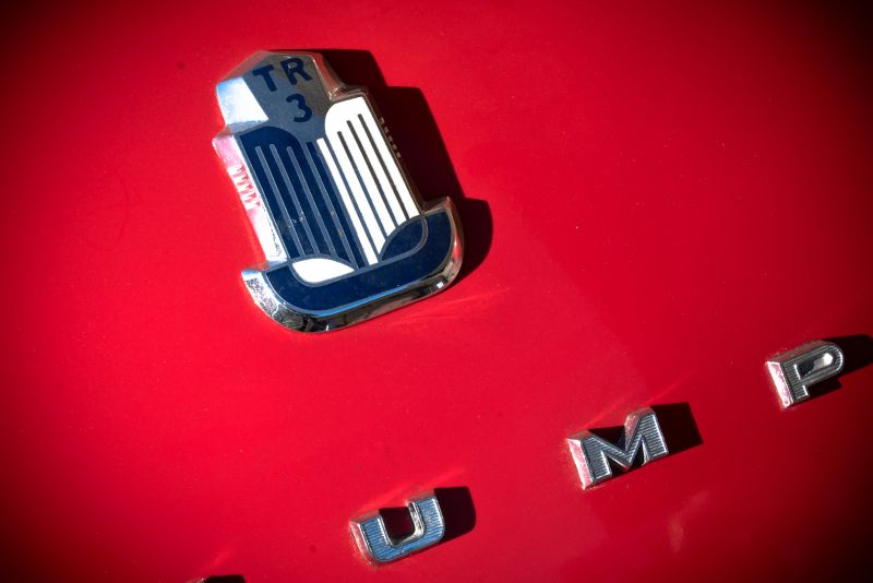 """1958 Triumph TR3A """"Small Mouth"""" 59682"""