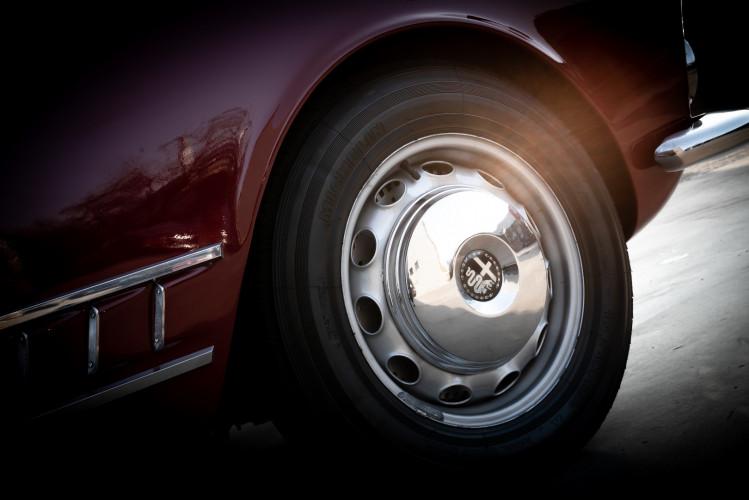 1961 Alfa Romeo 2000 Spider Touring 4