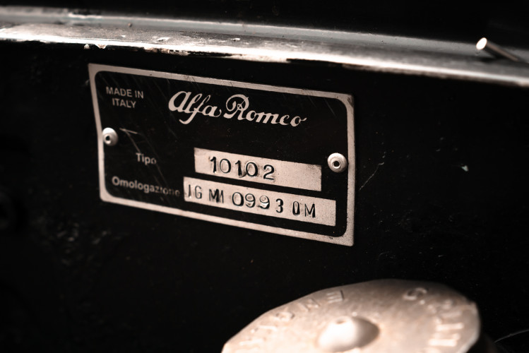 1962 Alfa Romeo Giulietta Sprint 1300 Race Car 36
