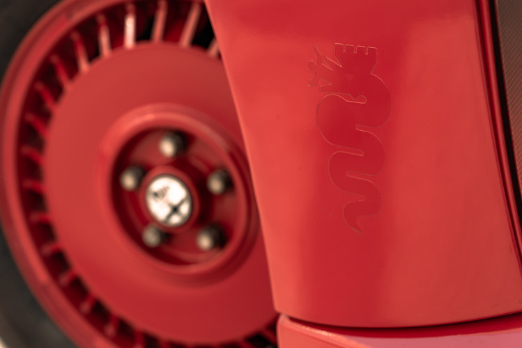1987 Alfa Romeo 75 Turbo Evoluzione 13