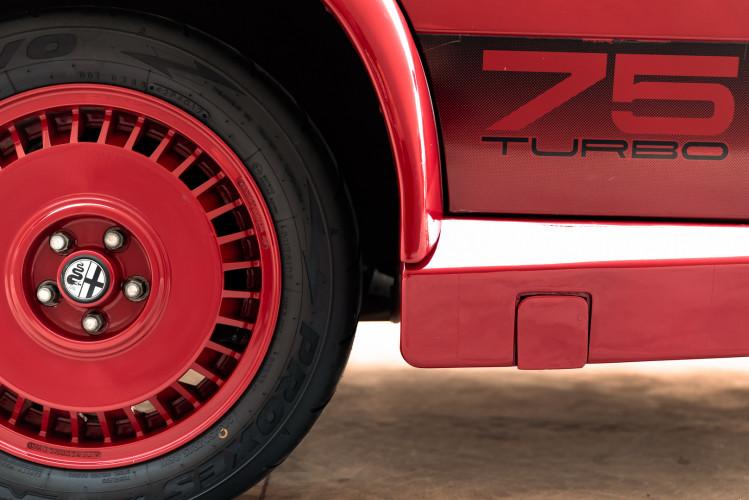 1987 Alfa Romeo 75 Turbo Evoluzione 18