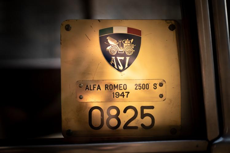 1947 Alfa Romeo Freccia d'oro 6C 2500 Sport 50