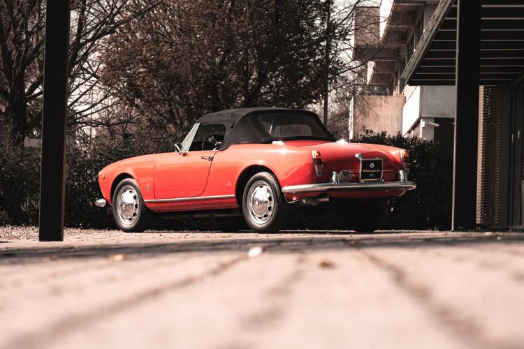 1963 Alfa Romeo Giulia Spider  6