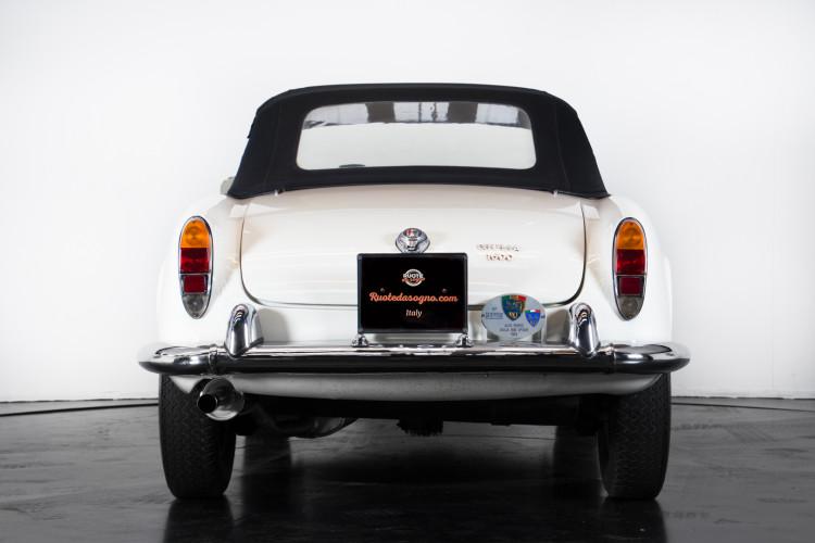 1962 Alfa Romeo Giulia spider 1600 3