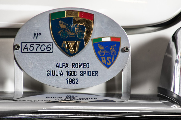 1962 Alfa Romeo Giulia spider 1600 5