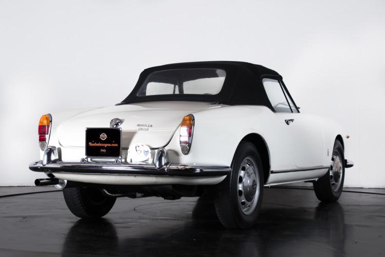 1962 Alfa Romeo Giulia spider 1600 6