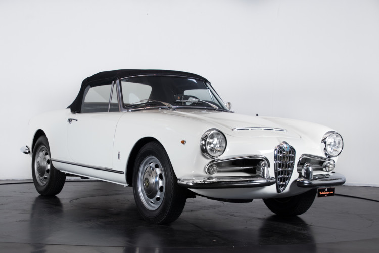 1962 Alfa Romeo Giulia spider 1600 10
