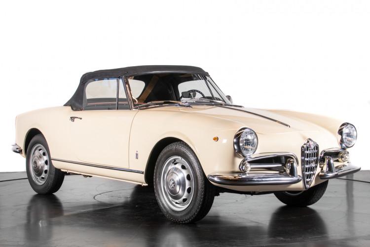 1959 Alfa Romeo Giulietta spider 37