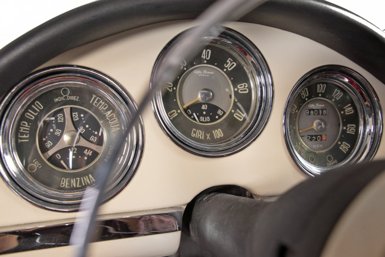 1959 Alfa Romeo Giulietta spider 17