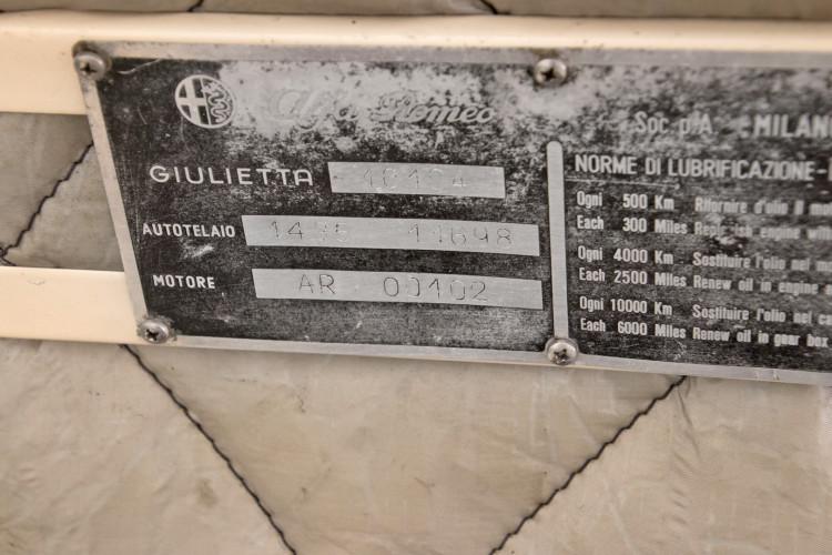 1959 Alfa Romeo Giulietta spider 27