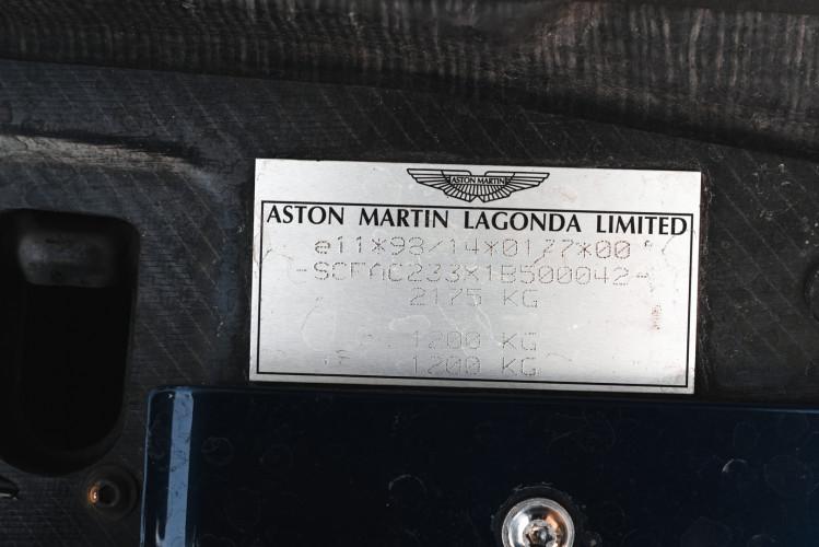 2001 Aston Martin V12 Vanquish 31