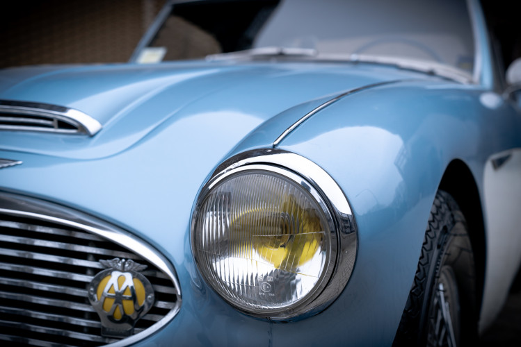1957 Austin-Healey 100/6 22