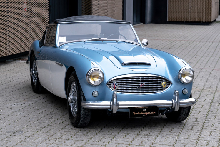 1957 Austin-Healey 100/6 0