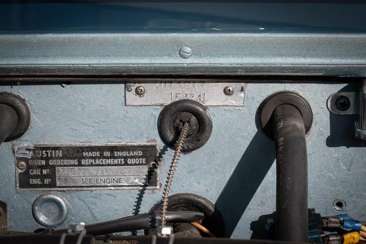 1961 Austin Healey BT7 3000 MKII 9