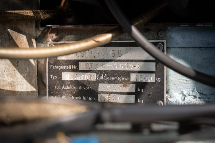1961 Austin Healey BT7 3000 MKII 13