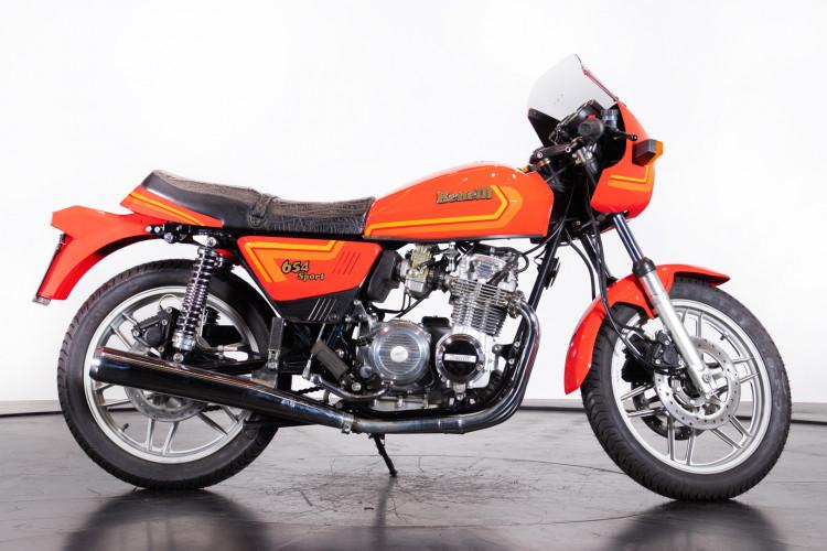 1985 Benelli 654 4s Sport 5