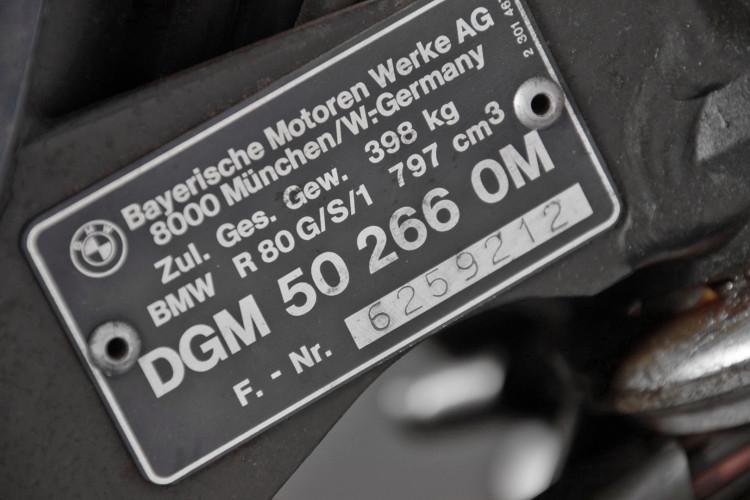 1983 BMW R80 GS 10