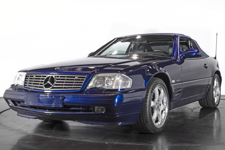 2000 Mercedes Benz SL500 SL Edition 7