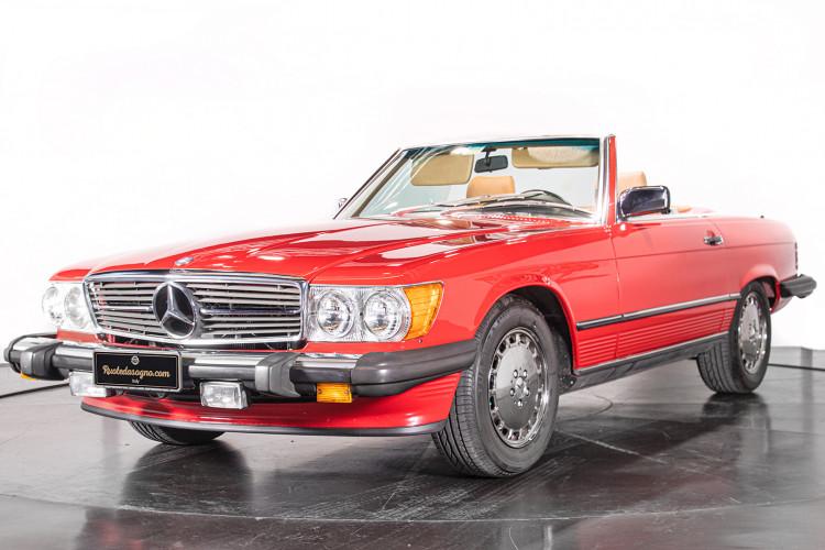 1985 Mercedes-Benz SL 560 20