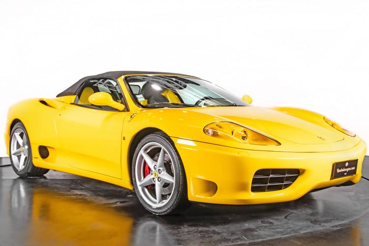 """2001 Ferrari 360 Spider """"Manuale"""" 8"""