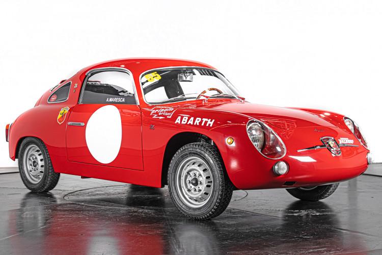 """1960 Fiat Abarth 750/850 Bialbero Record Monza """"Competizione""""  2"""