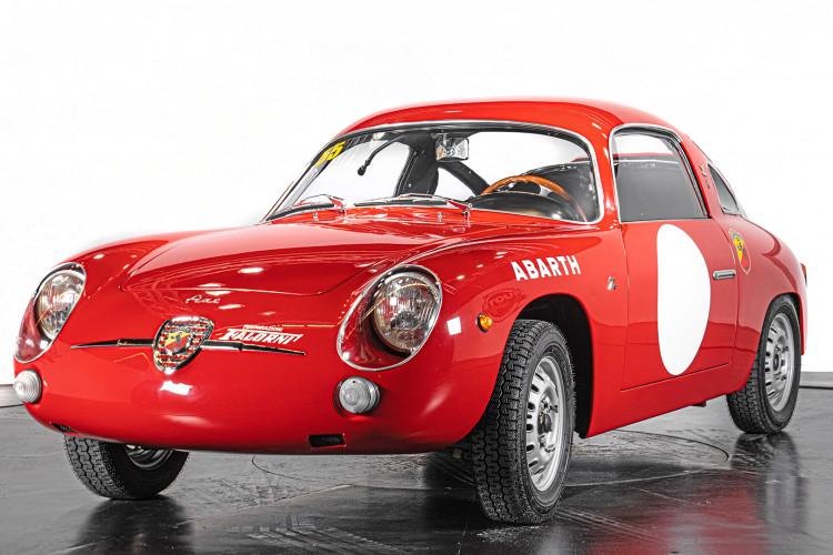 """1960 Fiat Abarth 750/850 Bialbero Record Monza """"Competizione""""  0"""