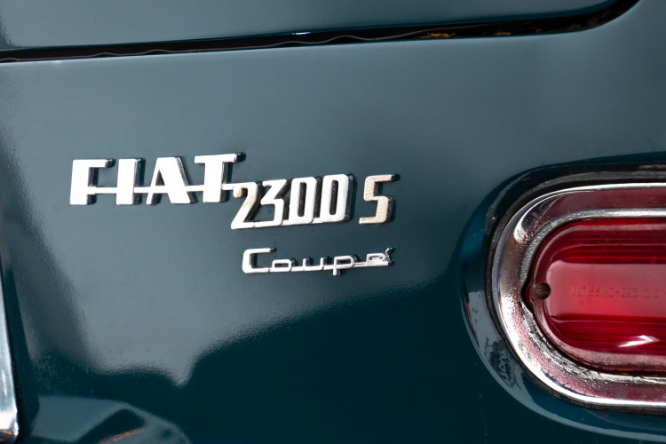 1964 FIAT COUPE' 2300 S 9